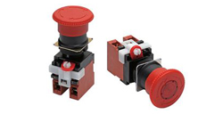 Emergency Stop Switches Omron